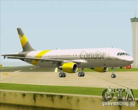Airbus A320-212 Condor для GTA San Andreas вид сзади слева