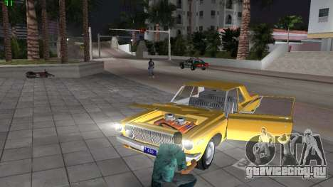 Dodge 330 Max Wedge Ramcharger 1963 для GTA Vice City вид изнутри