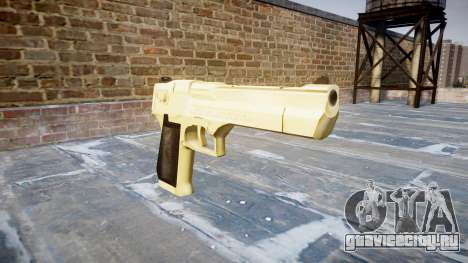 Пистолет Desert Eagle PointBlank Gold для GTA 4