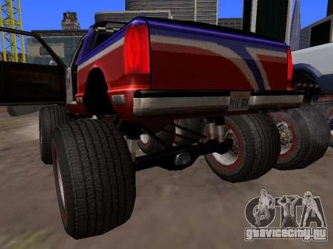 Новые текстуры Monster для GTA San Andreas для GTA San Andreas вид справа
