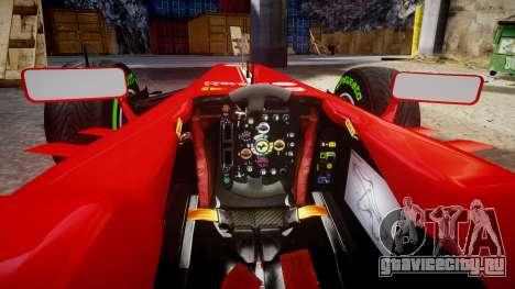 Ferrari F138 v2.0 [RIV] Massa TMD для GTA 4 вид сзади