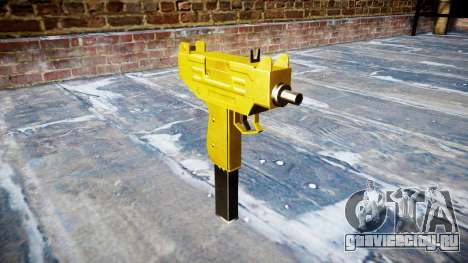 Golden Uzi для GTA 4
