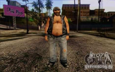 Biker from GTA Vice City Skin 2 для GTA San Andreas