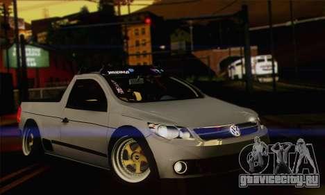 Volkswagen Saveiro Slammed для GTA San Andreas