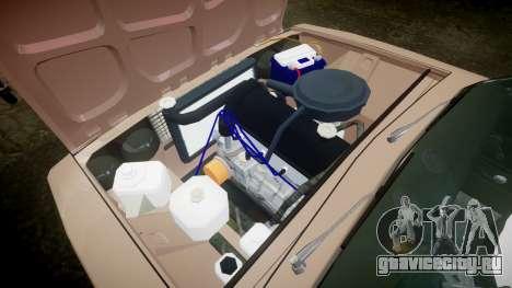 ВАЗ-2106 хулиганский азербайджанский стиль для GTA 4 вид изнутри