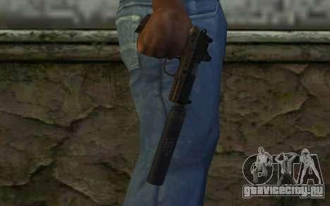FN FNP-45 С Глушителем и Прицелом для GTA San Andreas третий скриншот