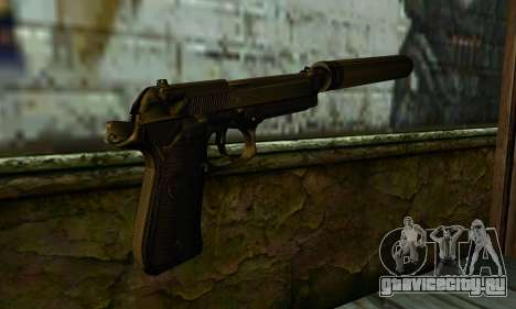 Beretta M9 Silenced для GTA San Andreas второй скриншот