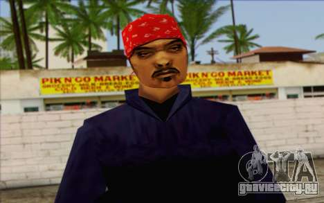 Diablo from GTA Vice City Skin 1 для GTA San Andreas
