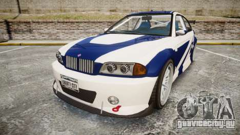 Ubermacht Sentinel GTR Most Wanted style для GTA 4
