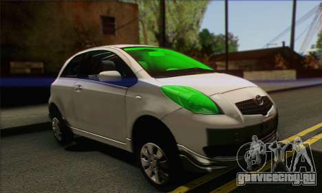 Toyota Yaris Shark Edition для GTA San Andreas
