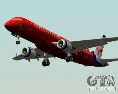 Embraer E-190 Virgin Blue для GTA San Andreas вид сбоку