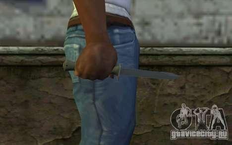 Боевой нож (DayZ Standalone) v1 для GTA San Andreas третий скриншот