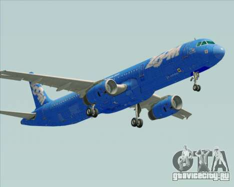 Airbus A321-200 Zoom Airlines для GTA San Andreas вид справа