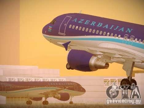 Airbus A320-214 Azerbaijan Airlines AZAL для GTA San Andreas
