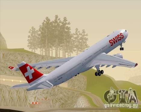 Airbus A330-300X Swiss International Air Lines для GTA San Andreas