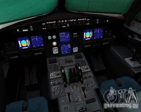 Airbus A321-200 Delta Air Lines для GTA San Andreas салон