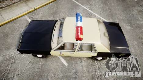 Ford LTD Crown Victoria 1987 LAPD [ELS] для GTA 4 вид справа