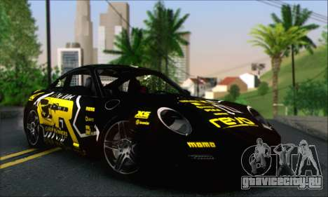 Porsche 997 Turbo Tunable для GTA San Andreas салон