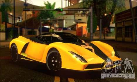 Grotti Cheetah (HQLM) для GTA San Andreas