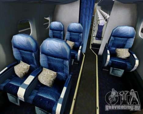 Embraer E-190 Virgin Blue для GTA San Andreas двигатель