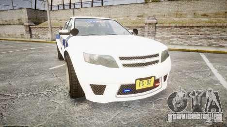 GTA V Cheval Fugitive LS Liberty Police [ELS] Sl для GTA 4