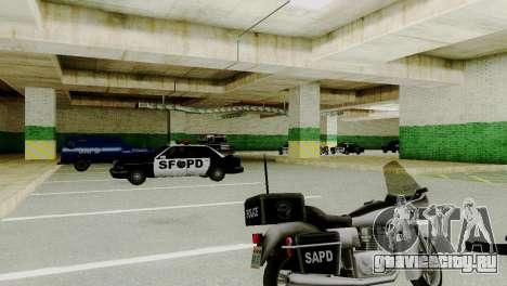 Новые транспортные средства в SFPD для GTA San Andreas третий скриншот