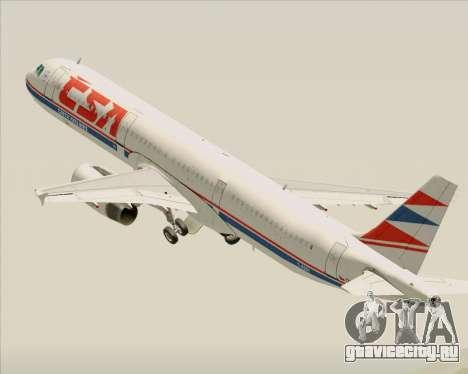 Airbus A321-200 CSA Czech Airlines для GTA San Andreas