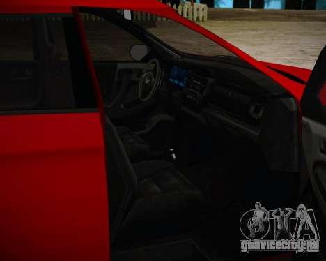 Bravado Gresley для GTA San Andreas вид сзади слева