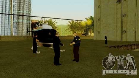 Новый транспорт в LSPD и его оживление для GTA San Andreas шестой скриншот