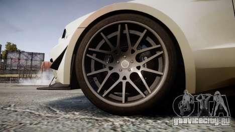 Ford Mustang GT 2014 Custom Kit PJ5 для GTA 4 вид сзади