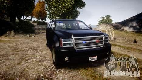 GTA V Declasse Granger Unmarked [ELS] Slicktop для GTA 4
