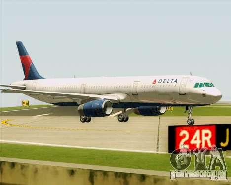 Airbus A321-200 Delta Air Lines для GTA San Andreas