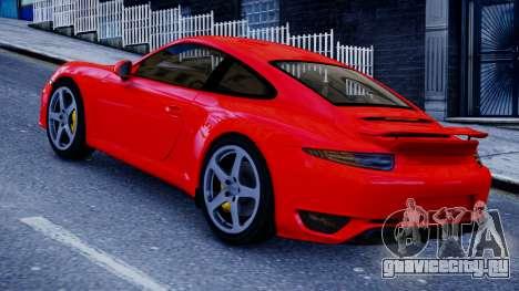 RUF RGT-8 для GTA 4 вид слева