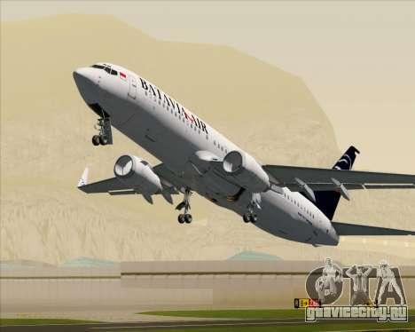 Boeing 737-800 Batavia Air для GTA San Andreas