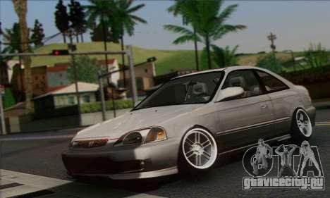 Honda Civic Si Coupe для GTA San Andreas
