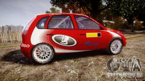 ВАЗ-1119 Калина RallyCross для GTA 4 вид слева