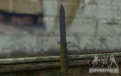 Боевой нож (DayZ Standalone) v1 для GTA San Andreas второй скриншот
