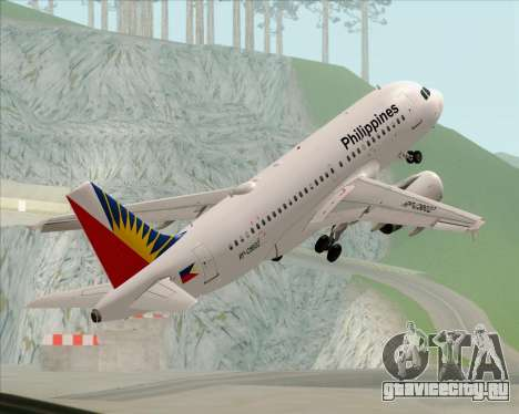 Airbus A319-112 Philippine Airlines для GTA San Andreas