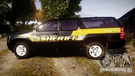 Chevrolet Suburban [ELS] Rims1 для GTA 4 вид слева