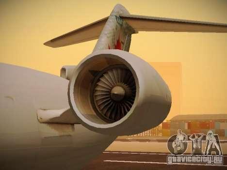 Bombardier CRJ-700 Air Canada Express для GTA San Andreas вид сверху