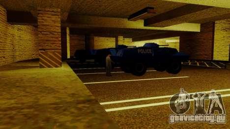 Новый транспорт в LSPD и его оживление для GTA San Andreas пятый скриншот