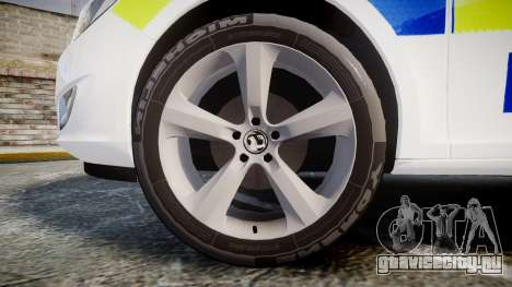 Vauxhall Astra Estate Metropolitan Police [ELS] для GTA 4 вид сзади