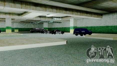 Новые транспортные средства в SFPD для GTA San Andreas второй скриншот