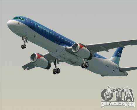 Airbus A321-200 British Midland International для GTA San Andreas вид сбоку