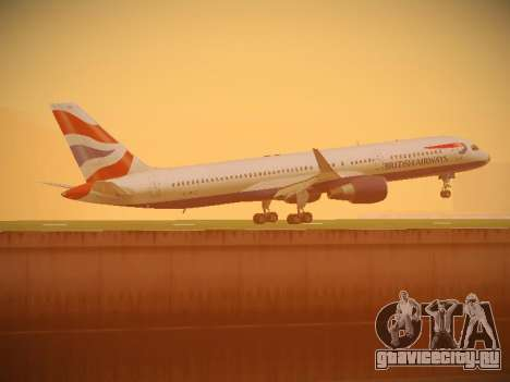 Boeing 757-236 British Airways для GTA San Andreas