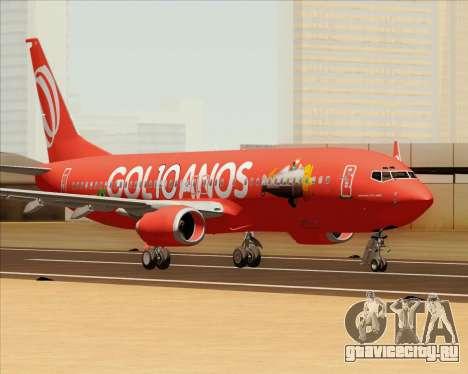 Boeing 737-800 Gol Transportes Aéreos для GTA San Andreas