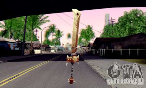 Меч (World Of Warcraft) для GTA San Andreas второй скриншот