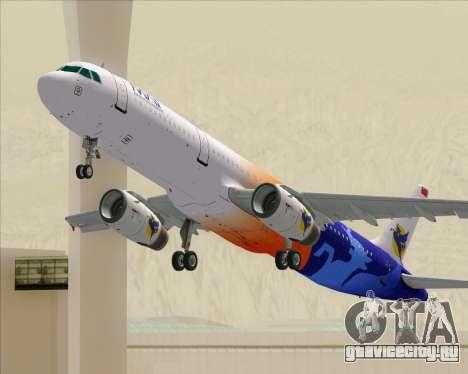 Airbus A321-200 Myanmar Airways International для GTA San Andreas