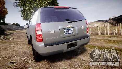 Chevrolet Suburban [ELS] Rims2 для GTA 4 вид сзади слева