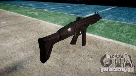 Пистолет-пулемет SMT40 with butt icon3 для GTA 4 второй скриншот